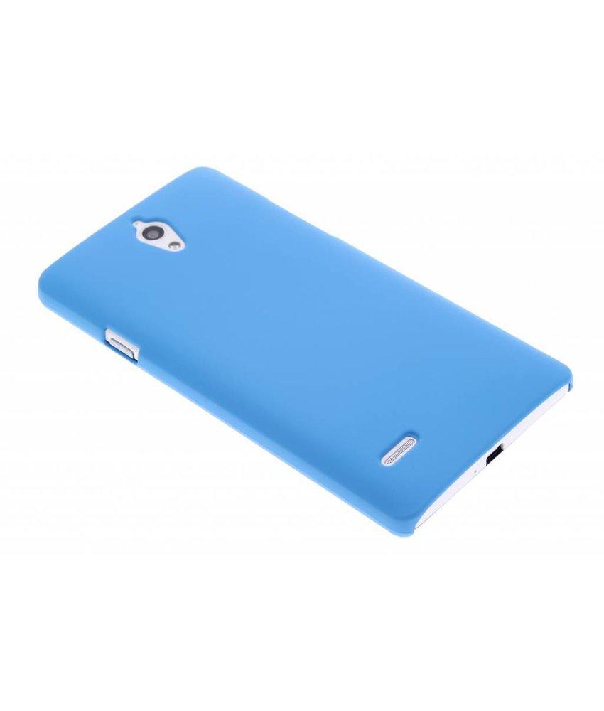 Turquoise effen hardcase hoesje Huawei Ascend G700