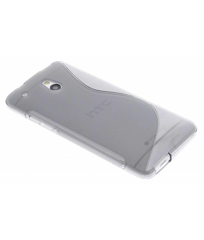 Grijs TPU S-Line hoesje HTC One Mini
