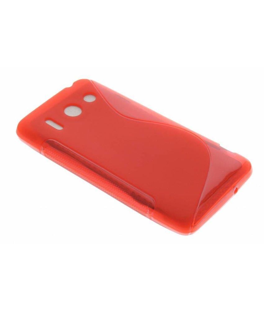 Rood S-line TPU hoesje Huawei Ascend G510