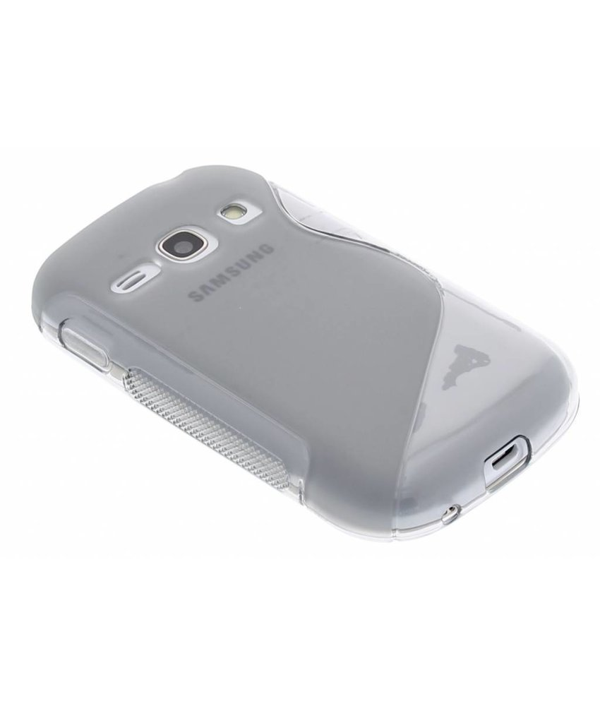 Grijs S-line TPU hoesje Samsung Galaxy Fame