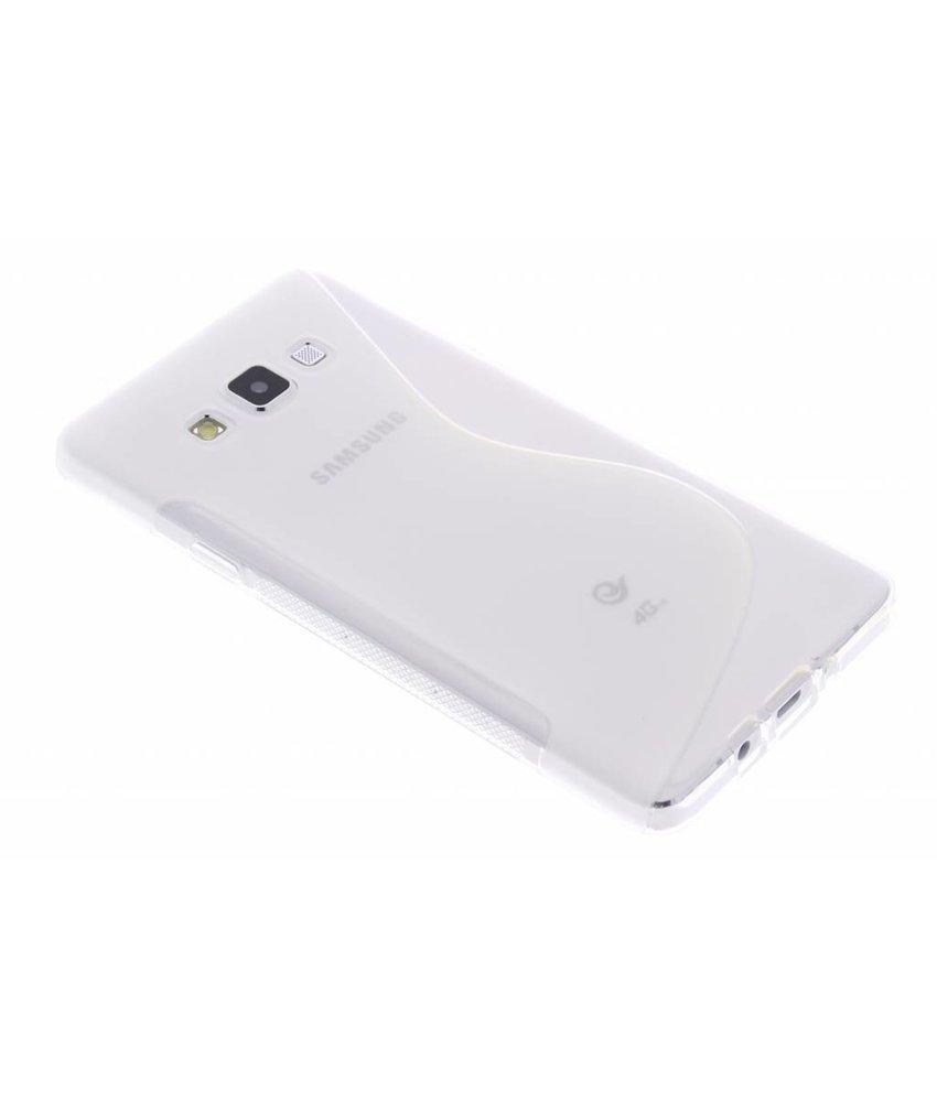 Transparant S-line TPU hoesje Samsung Galaxy A7