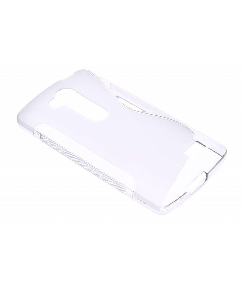 Transparant S-line TPU hoesje LG L Fino / L70 Plus