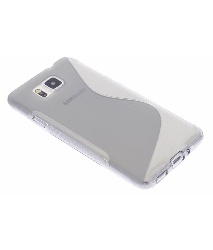 Grijs S-line TPU hoesje Samsung Galaxy Alpha