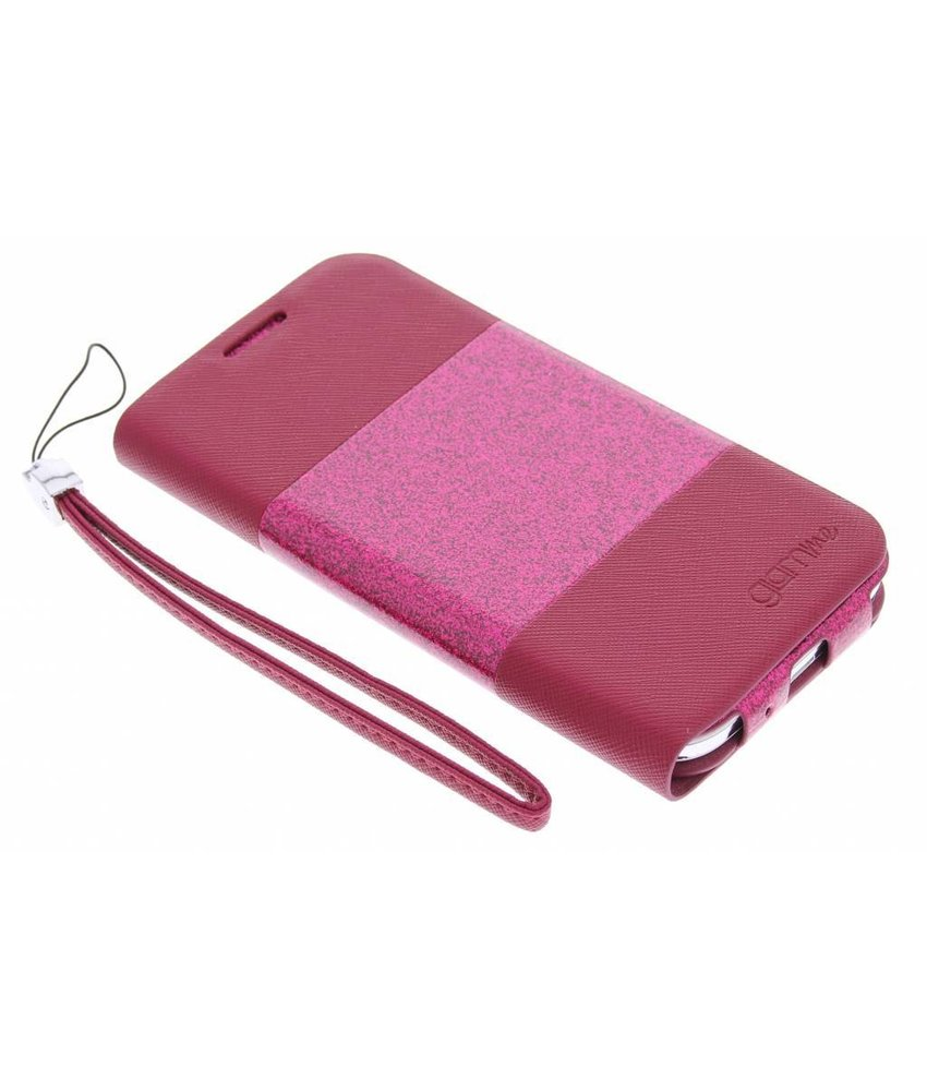 Celly GLAMme booktype hoes Samsung Galaxy S4 - roze