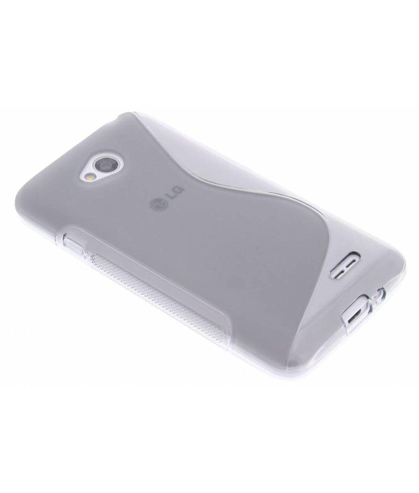 Grijs S-line TPU hoesje LG L70 / L65