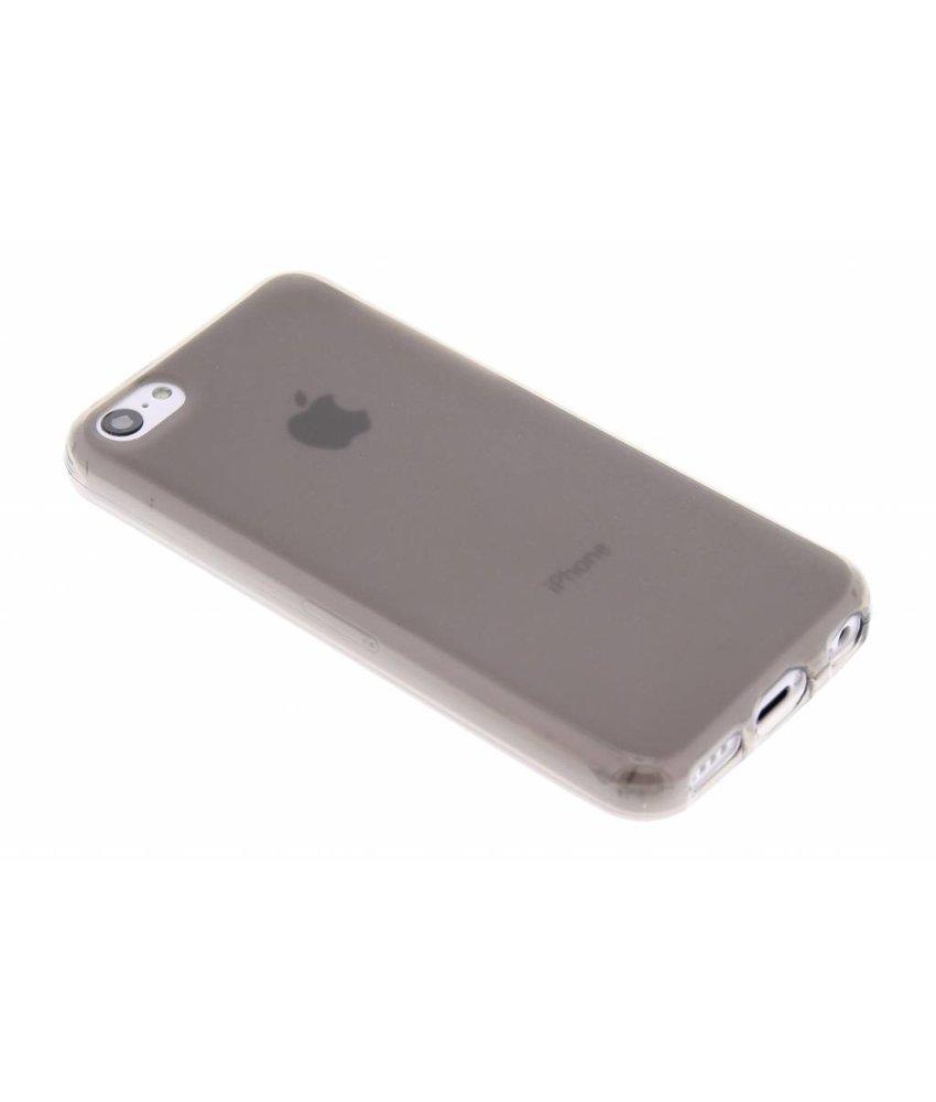 Grijs hard siliconen hoesje iPhone 5c