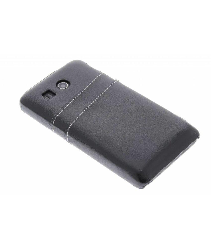 Zwart hardcase hoesje met vakjes Huawei Ascend G525