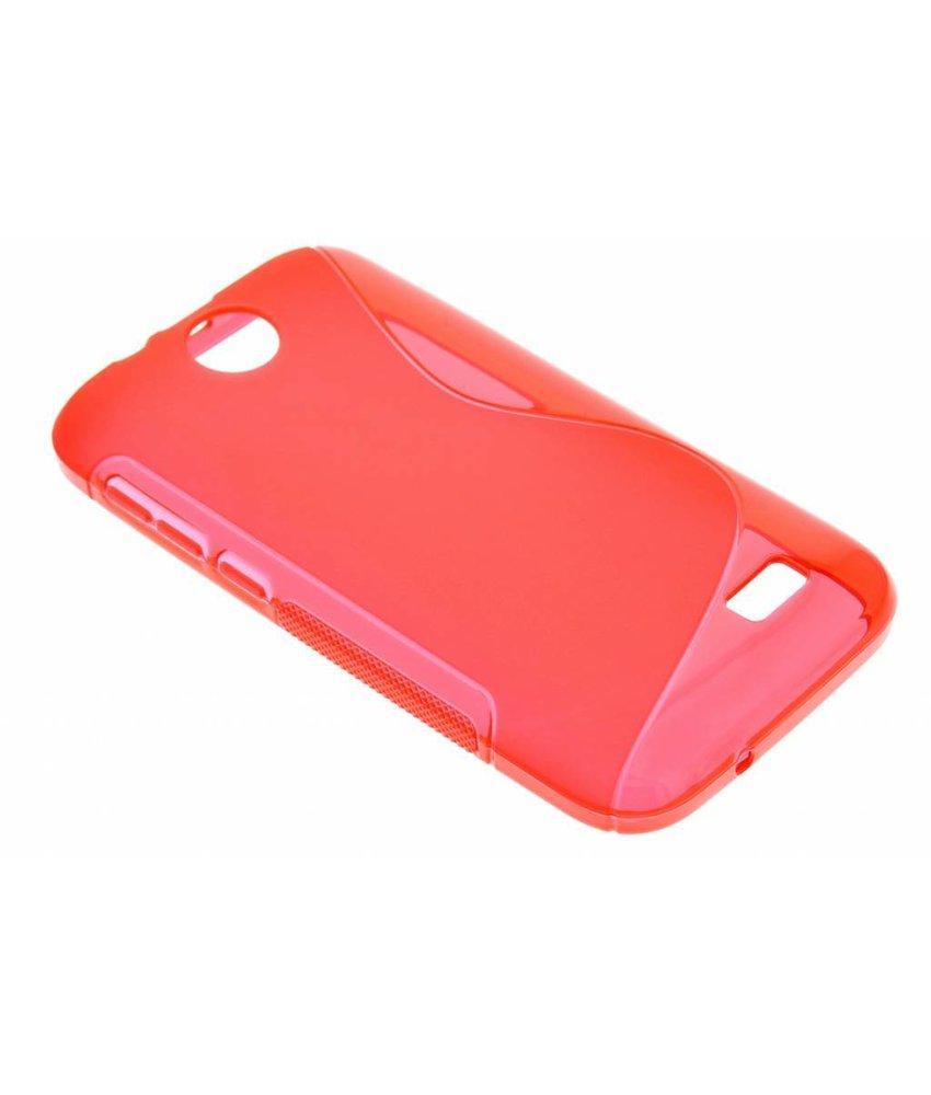 Rood S-line TPU hoesje HTC Desire 310
