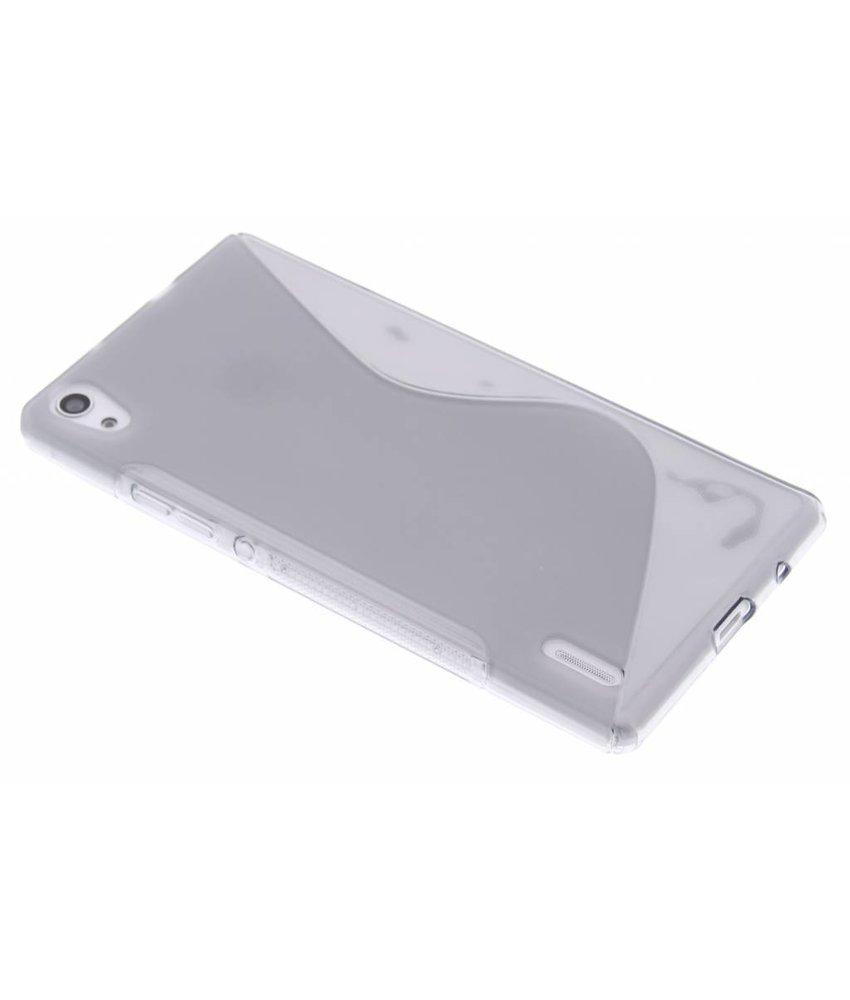 Grijs S-line TPU hoesje Huawei Ascend P7