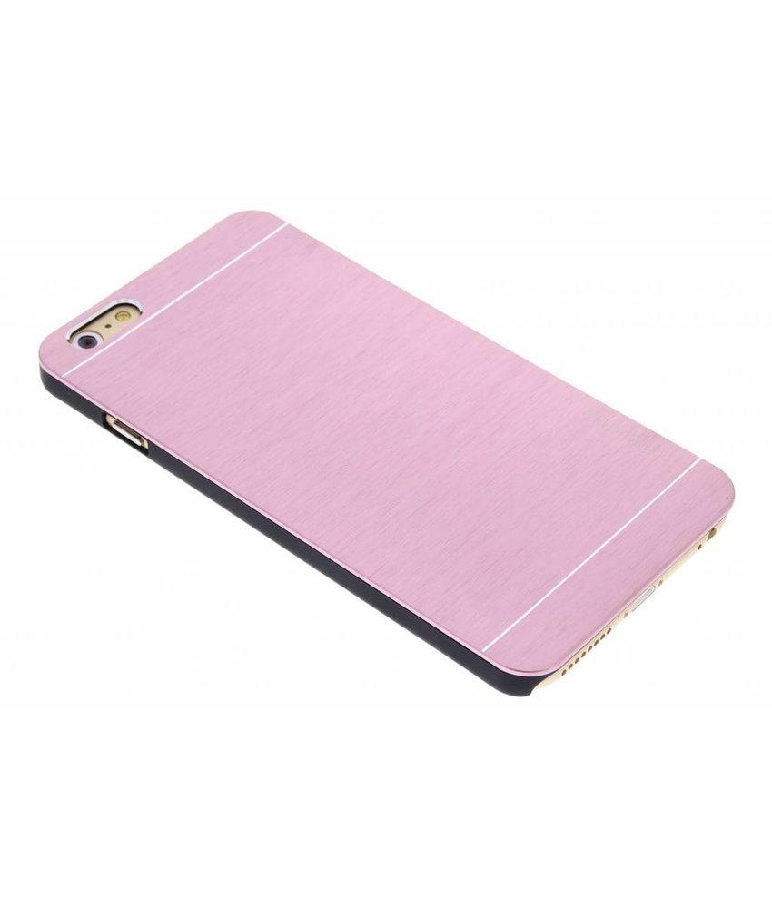 Roze brushed aluminium hardcase iPhone 6(s) Plus