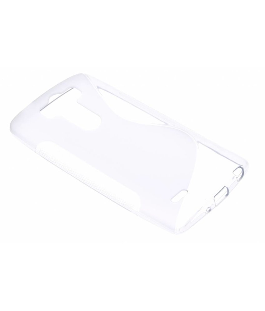 Transparant S-line TPU hoesje LG G3 S