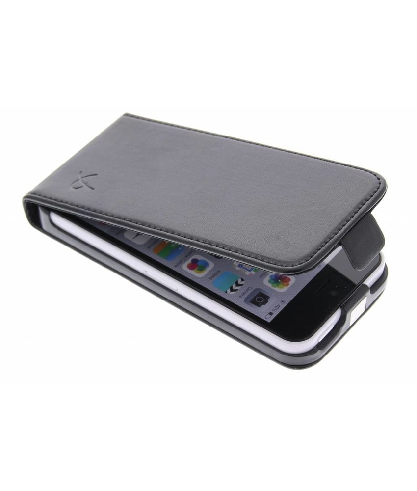Dolce Vita Flipcase iPhone 5c - zwart
