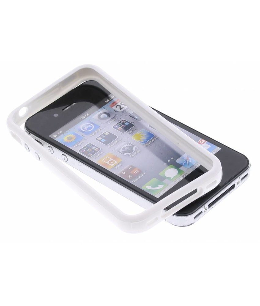 Witte bumper iPhone 4 / 4S