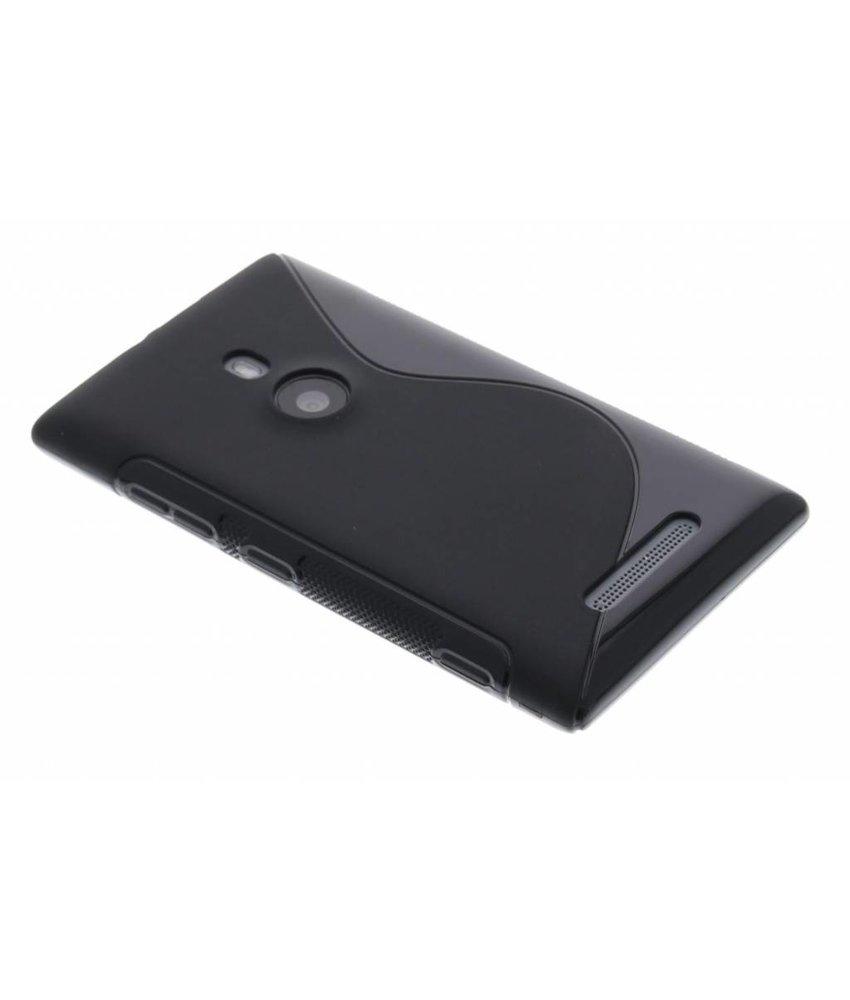 Zwart S-line TPU hoesje Nokia Lumia 925
