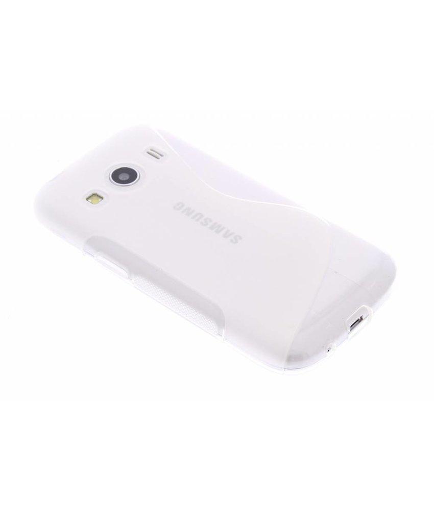 Transparant S-line TPU hoesje Samsung Galaxy Ace 4