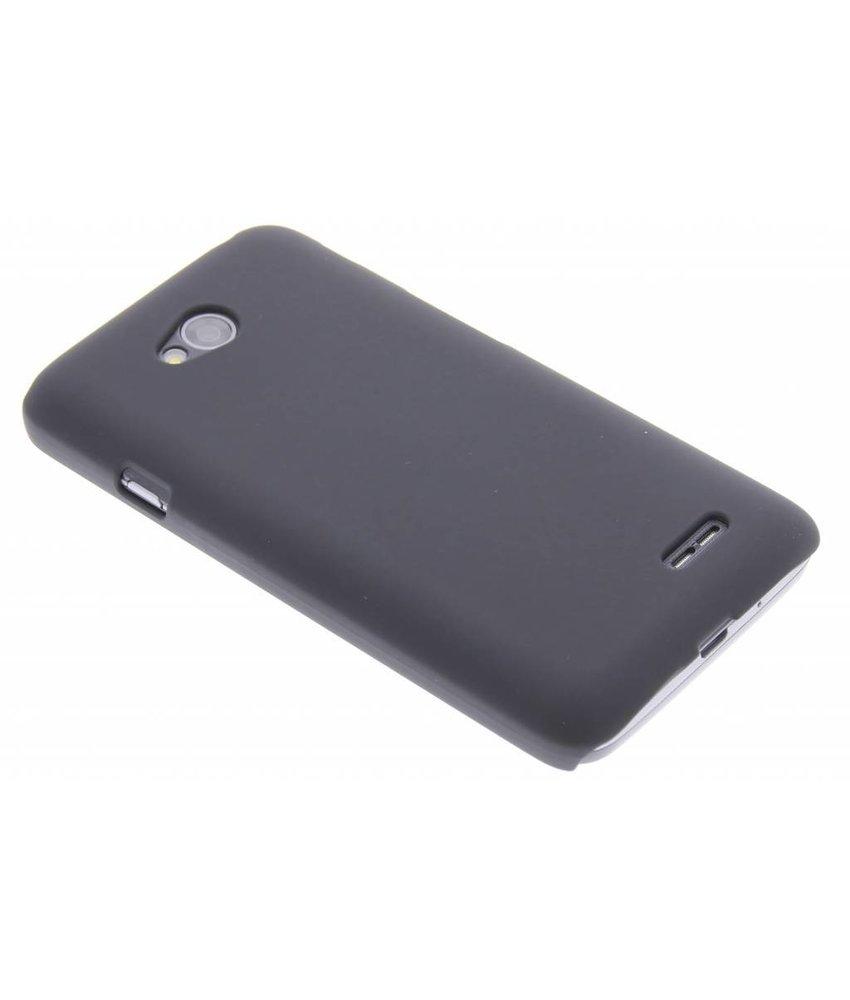 Zwart effen hardcase hoesje LG L70 / L65