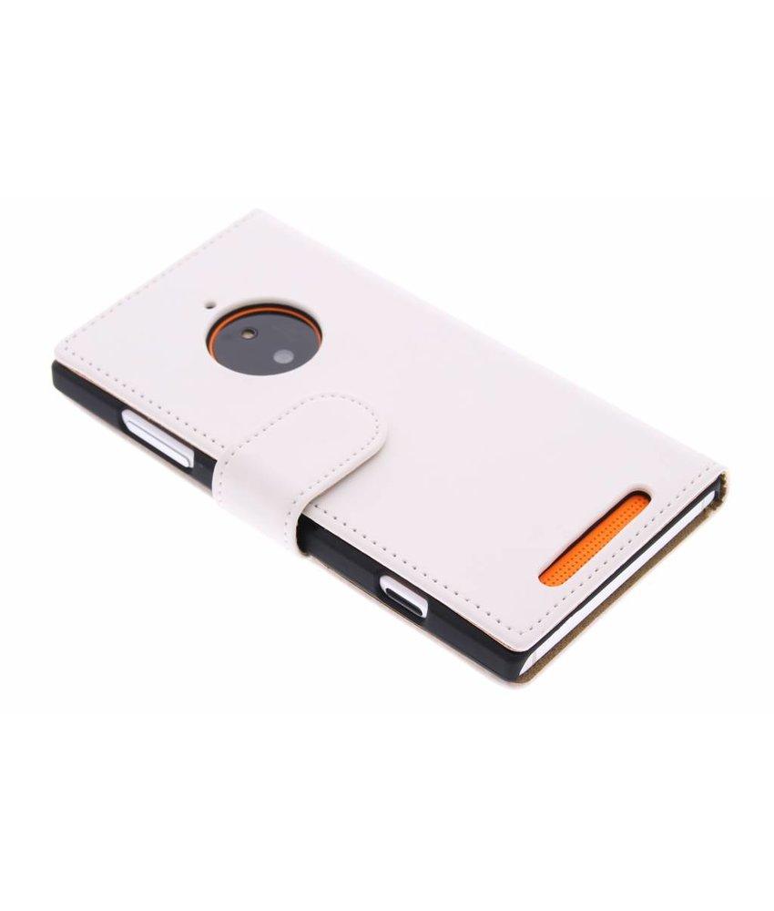 Wit effen booktype Nokia Lumia 830