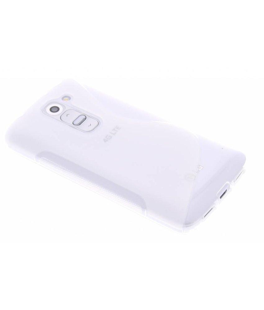 Transparant S-line TPU hoesje LG G2 Mini