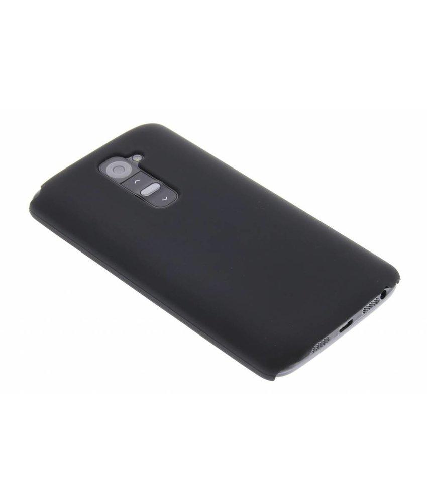 Zwart effen hardcase LG G2