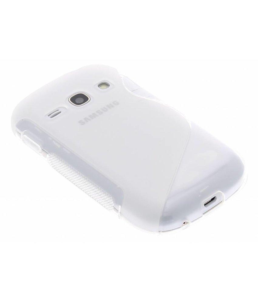 Transparant S-line TPU hoesje Samsung Galaxy Fame