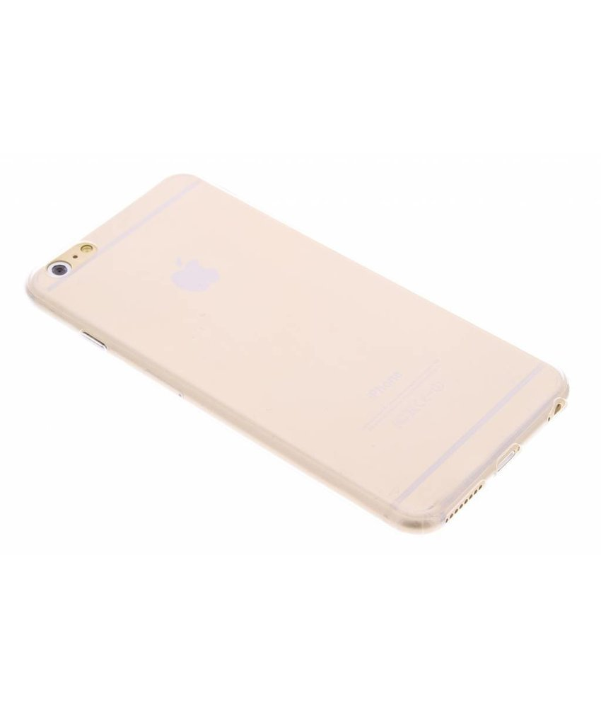 Ultra thin transparant TPU hoesje iPhone 6(s) Plus