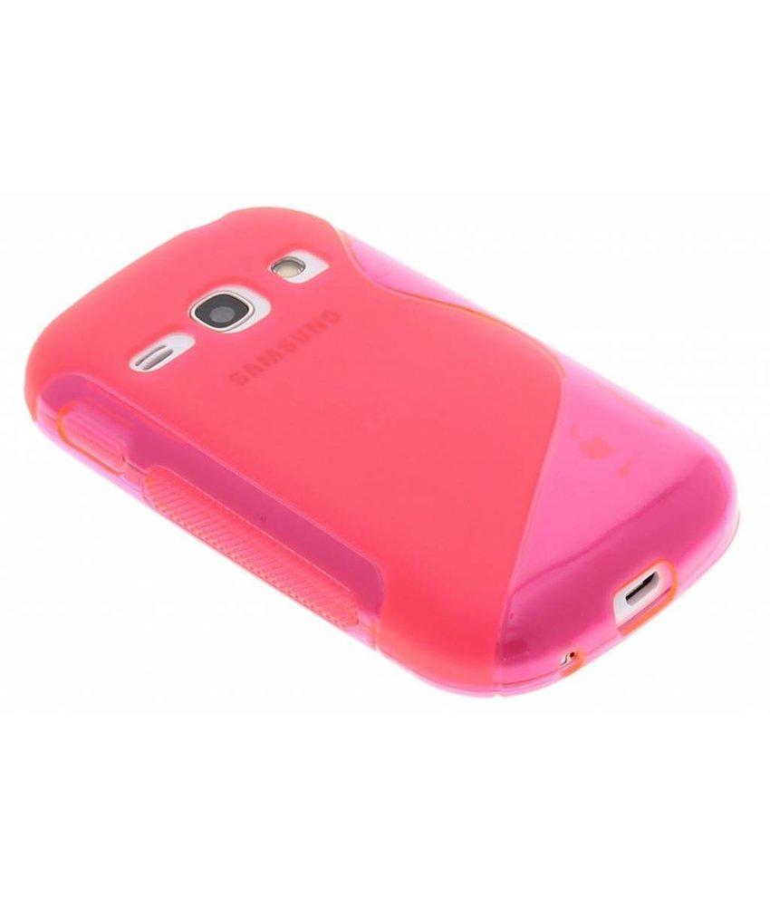Rosé S-line TPU hoesje Samsung Galaxy Fame