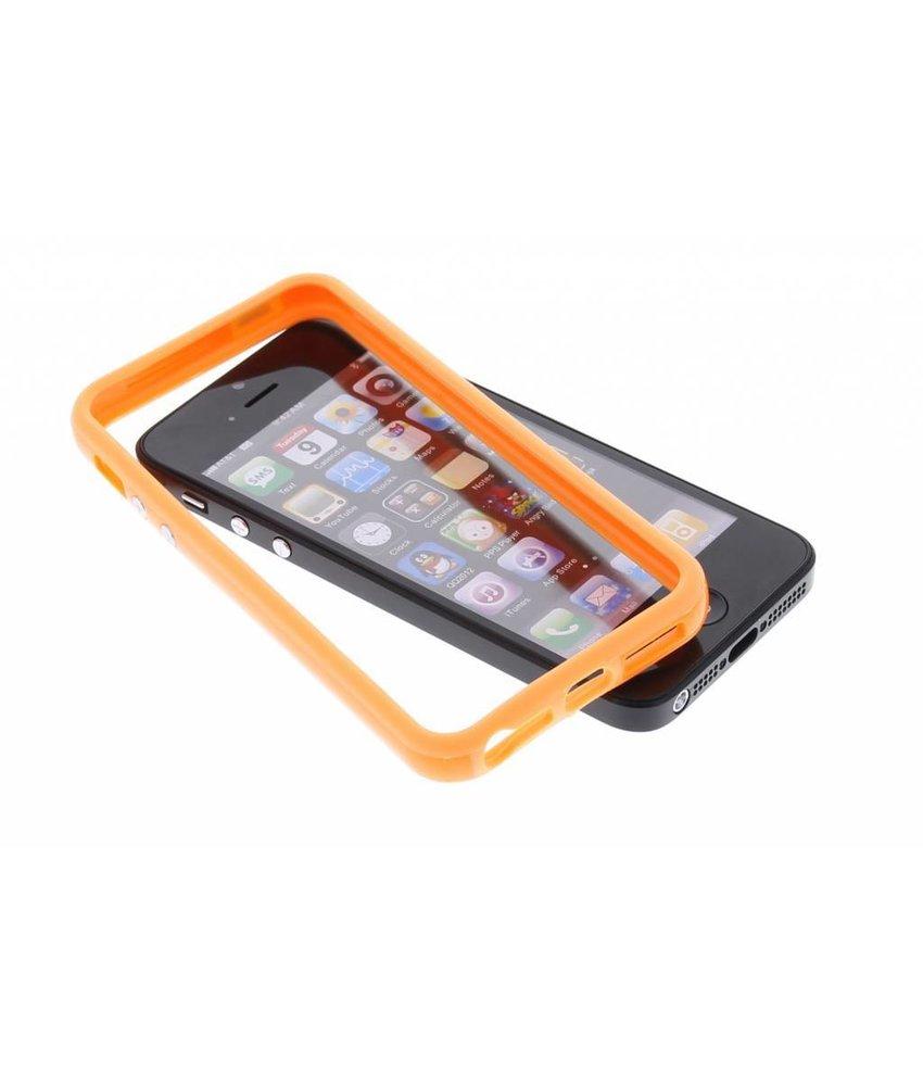 Oranje bumper iPhone 5 / 5s / SE