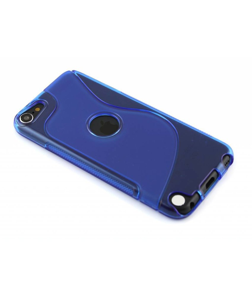 Blauw S-line TPU hoesje iPod Touch 5g / 6