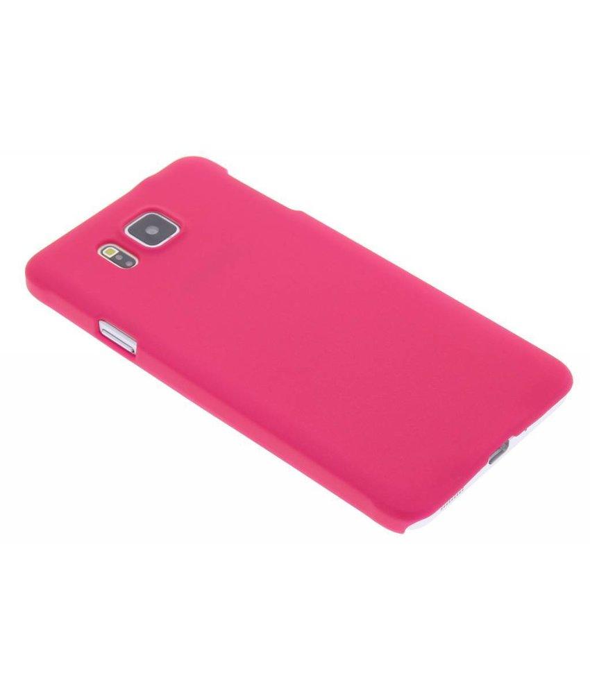 Fuchsia effen hardcase Samsung Galaxy Alpha