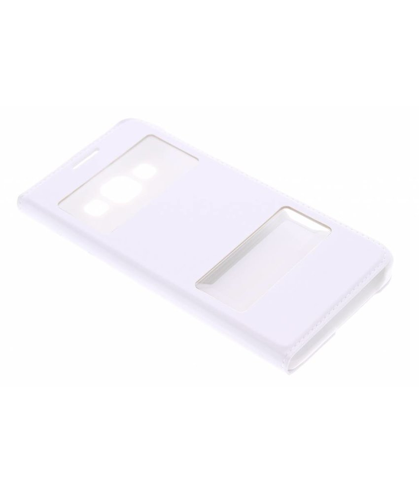 Luxe slim booktype met venster Samsung Galaxy A3