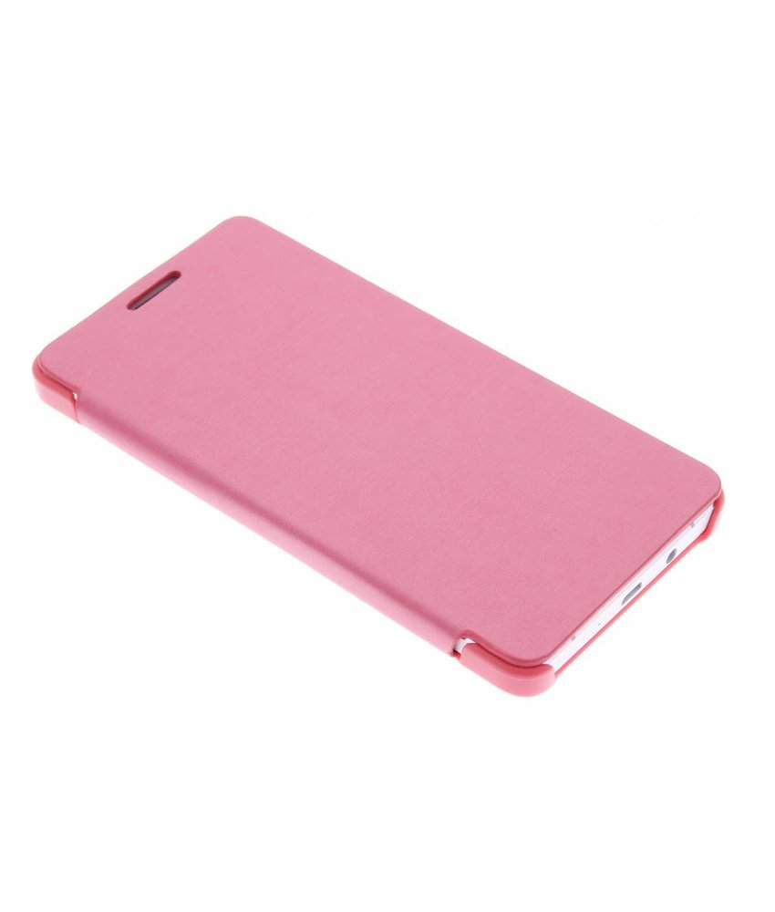 Roze slim booktype hoes Samsung Galaxy A5