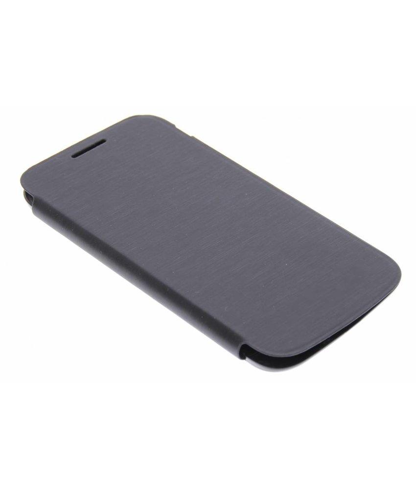 Zwart flipcover Samsung Galaxy Core Plus