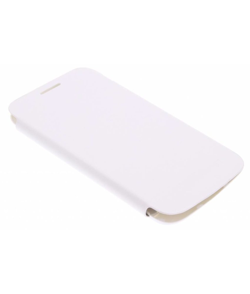 Wit flipcover Samsung Galaxy Core Plus