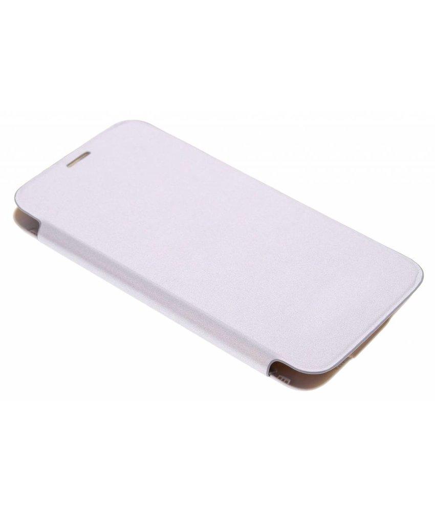 Zilver flipcover Samsung Galaxy S5 (Plus)