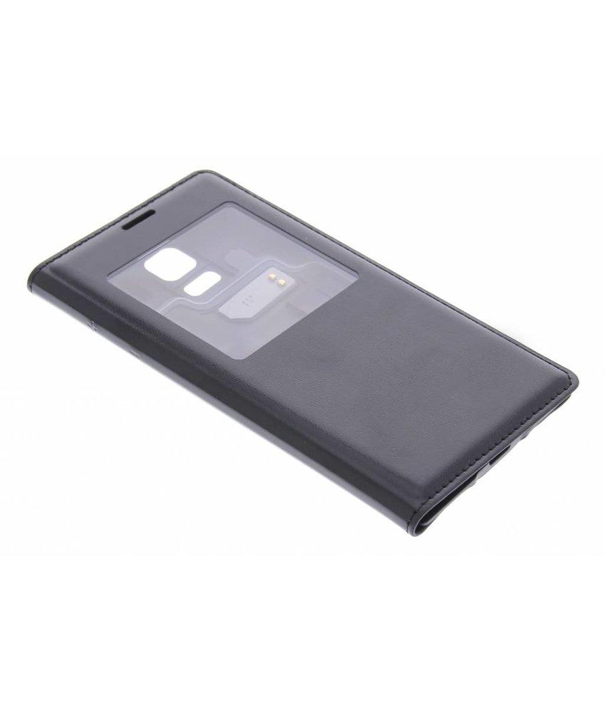 Zwart flipcover met venster Samsung Galaxy S5 Mini