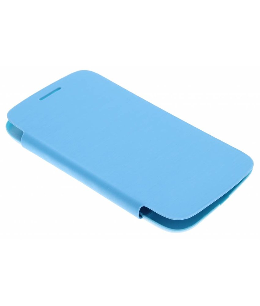 Blauw flipcover Samsung Galaxy Core
