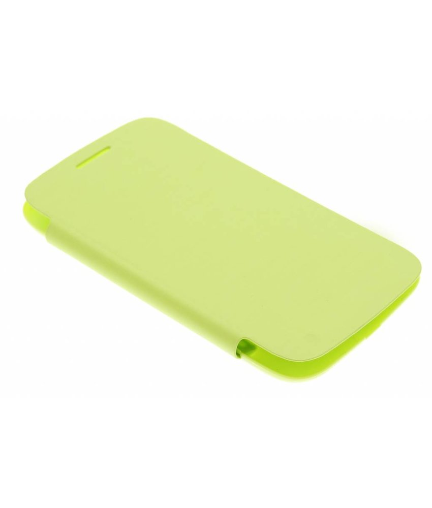 Groen flipcover Samsung Galaxy Core