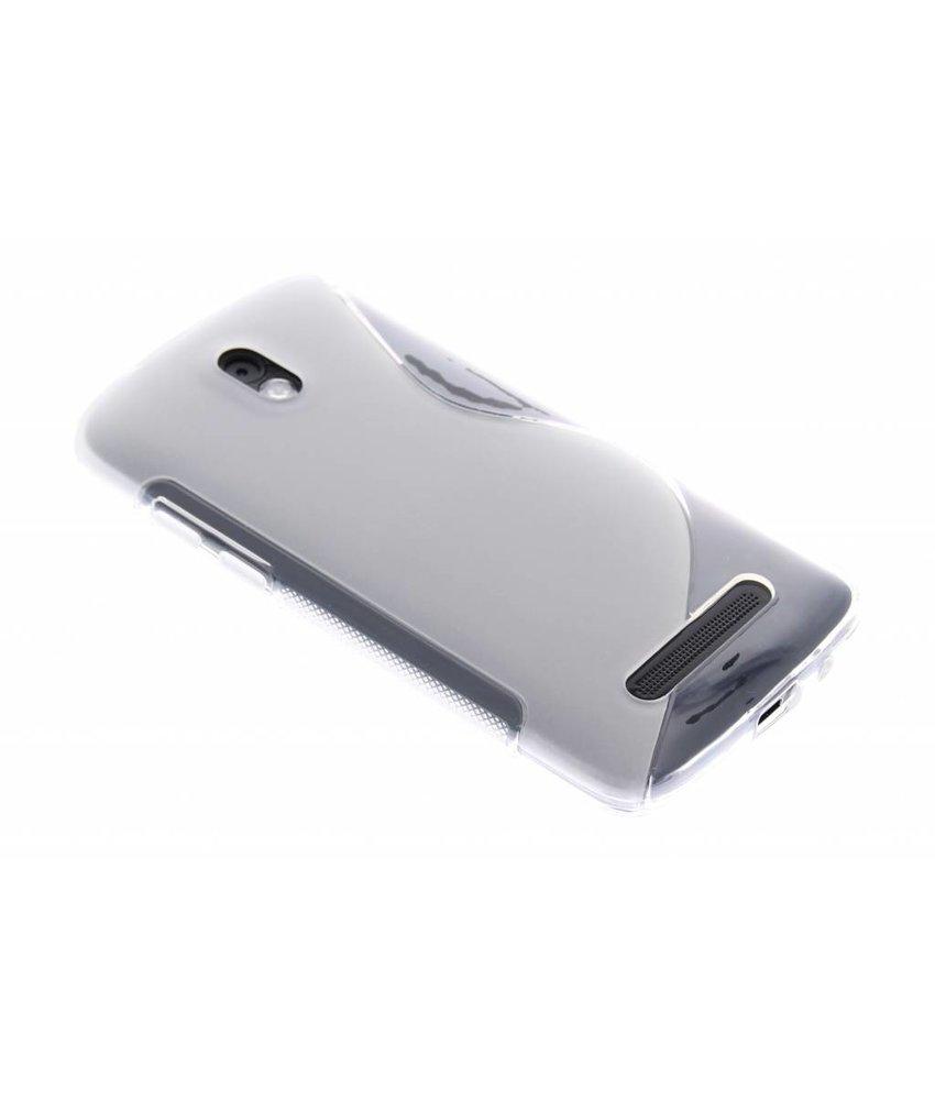 Transparant S-line TPU hoesje HTC Desire 500