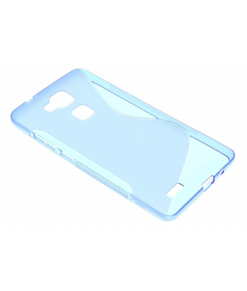 Blauw S-line TPU hoesje Huawei Ascend Mate 7