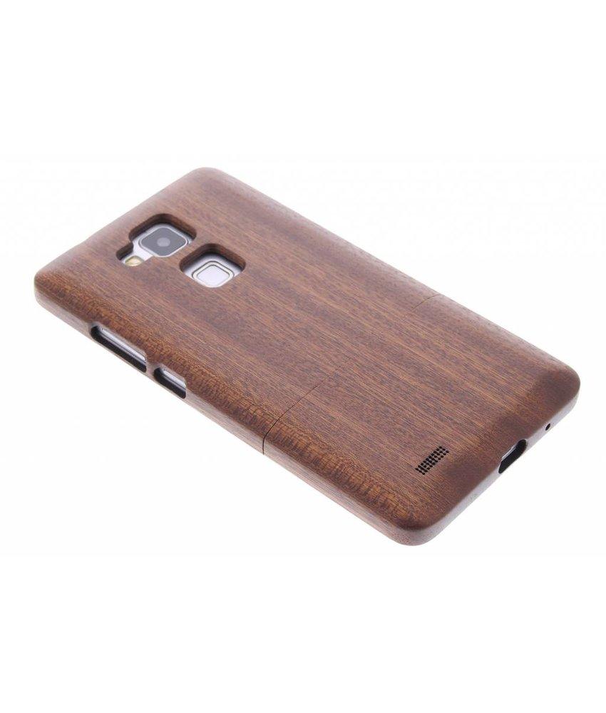 Echt houten hardcase Huawei Ascend Mate 7