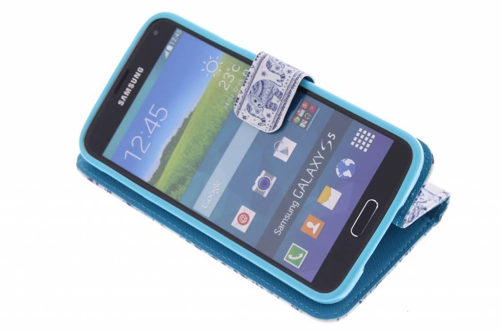 Cas Elephant Tpu Pour Samsung Galaxy S5 (plus) / Neo A4dWzO2q
