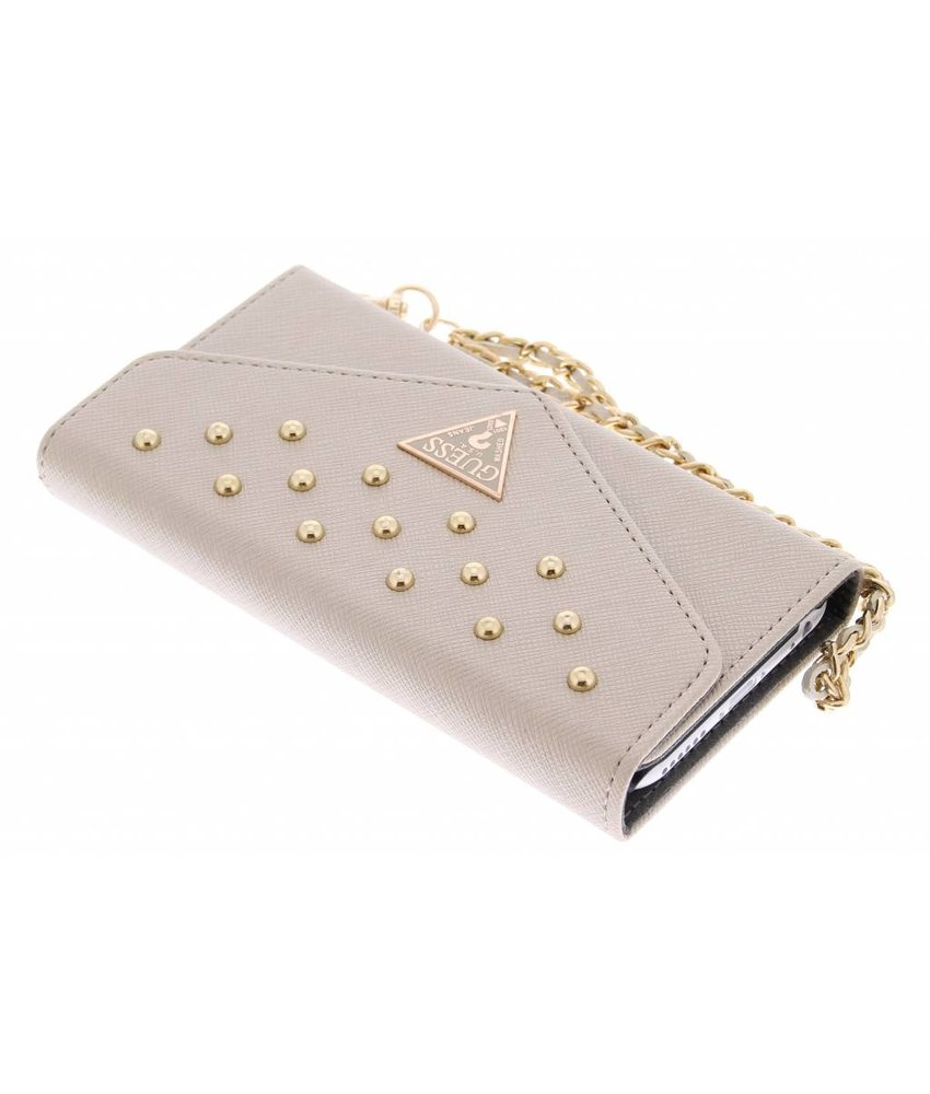 Guess Studded Wallet Clutch Case iPhone 6 / 6s - goud