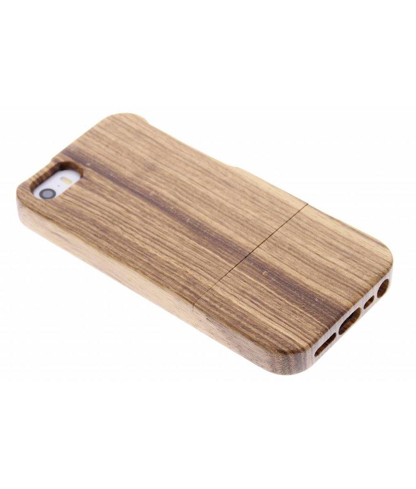 Echt houten hoesje iPhone 5 / 5s / SE