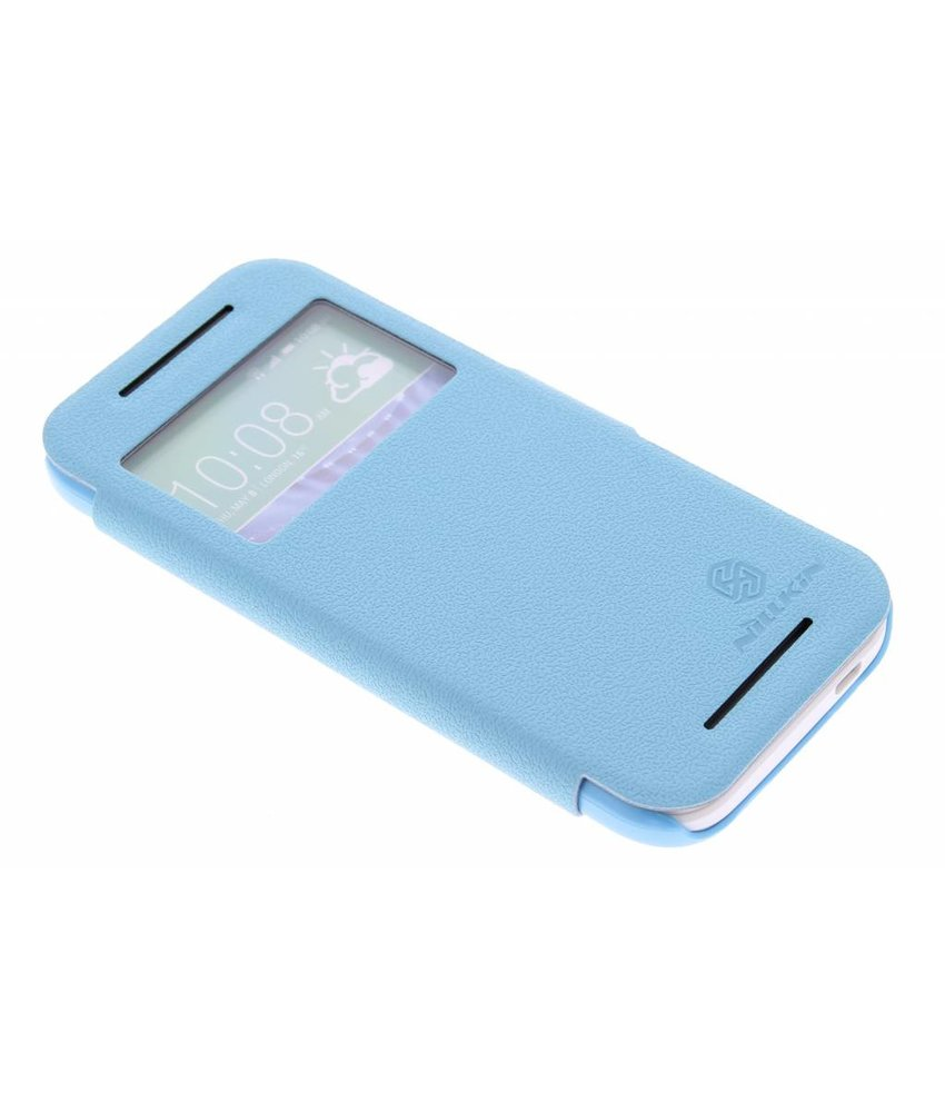 Nillkin Leather Case HTC One Mini 2 - turquoise