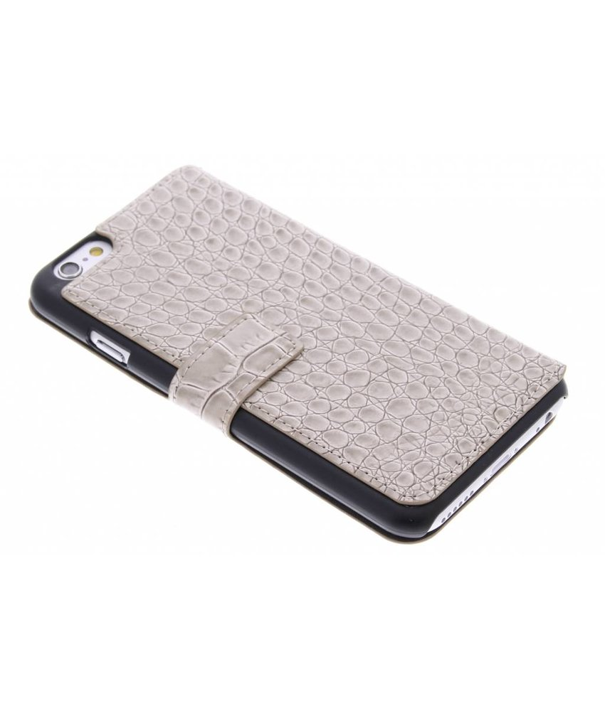 Guess Folio Case Crocodile iPhone 6 / 6s - beige