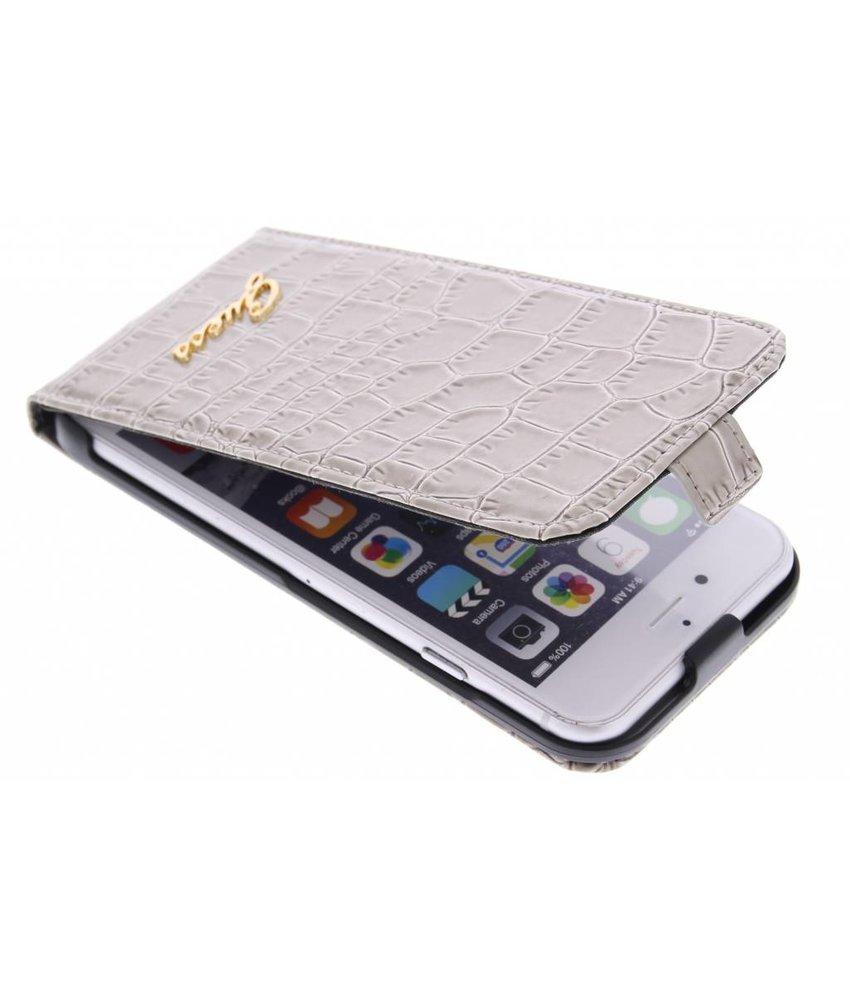 Guess Flip Case Crocodile iPhone 6 / 6s - beige