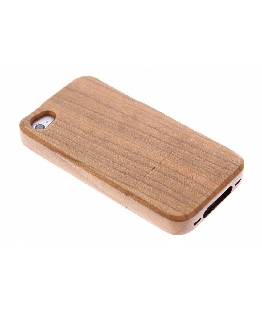 Houten hardcase hoesje iPhone 4 / 4s