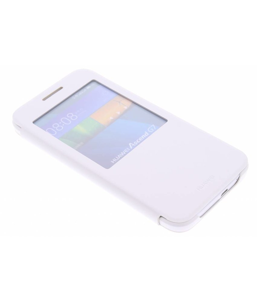 Huawei View Cover Huawei Ascend G7 - White