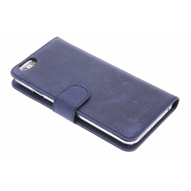 Valenta Booklet Classic Luxe iPhone 6 / 6s - Vintage Blue