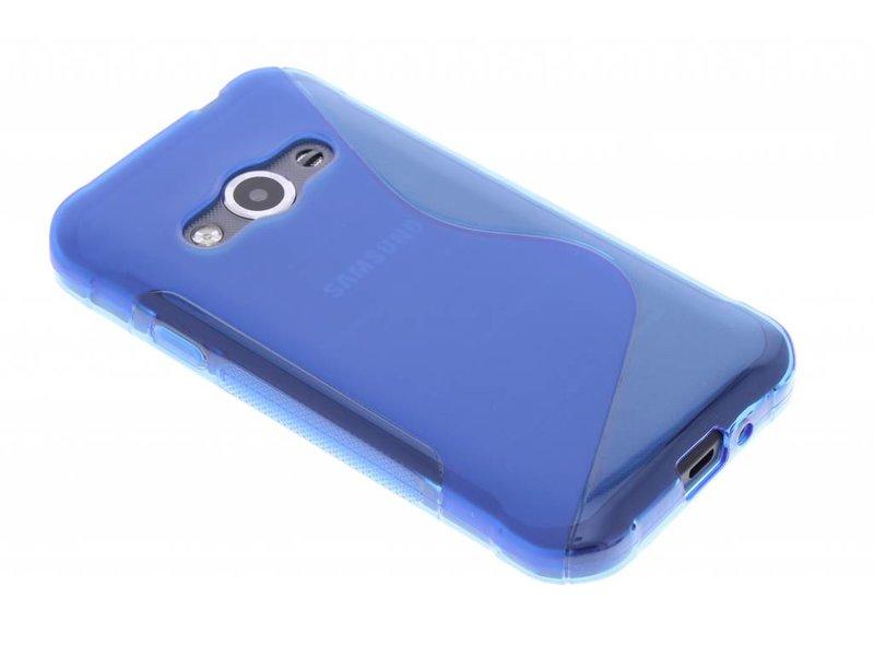 Le Cas De Tpu Ligne De Noir Pour Samsung Galaxy Xcover 3 hs54LR8E